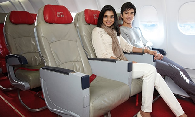Get more comfort and convenience during flight.