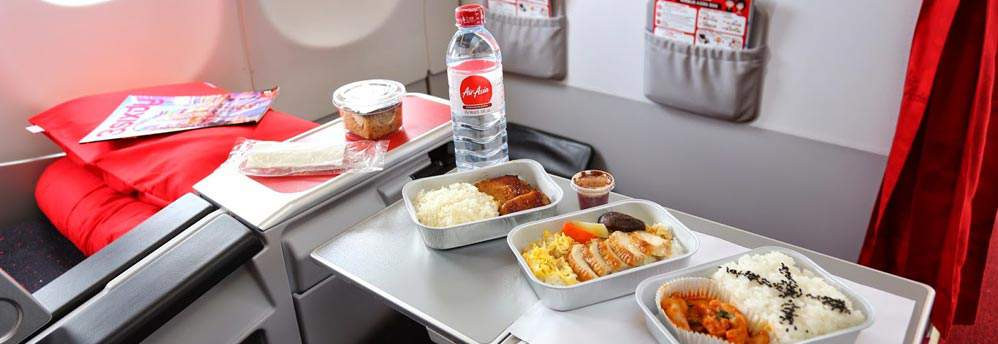 Savour delicious on-board meals and complimentary drinks.